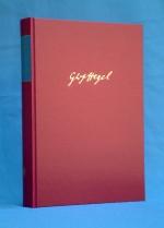 Die Bibliothek Georg Wilhelm Friedrich Hegels I
