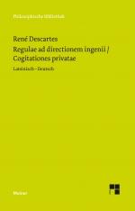 Regulae ad directionem ingenii / Cogitationes privatae
