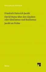 David Hume über den Glauben oder Idealismus und Realismus. Ein Gespräch (1787)