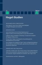 Hegel-Studien Band 51