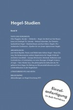 Hegel-Studien Band 8 (1973)