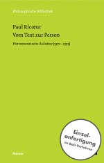 Vom Text zur Person