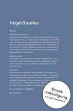 Hegel-Studien Band 2 (1963)