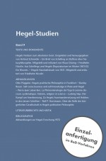 Hegel-Studien Band 9 (1974)