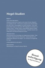 Hegel-Studien Band 4 (1967)