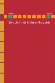 Zeitschrift für Kulturphilosophie (ZKph)
