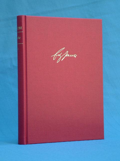 Jacobi, Friedrich Heinrich | Werke