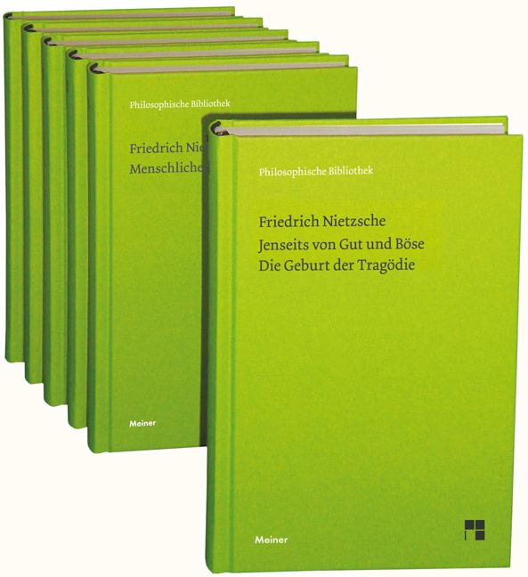 Friedrich Nietzsche Philosophische Werke in sechs Bänden