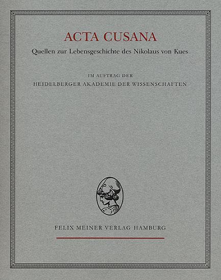 Acta Cusana