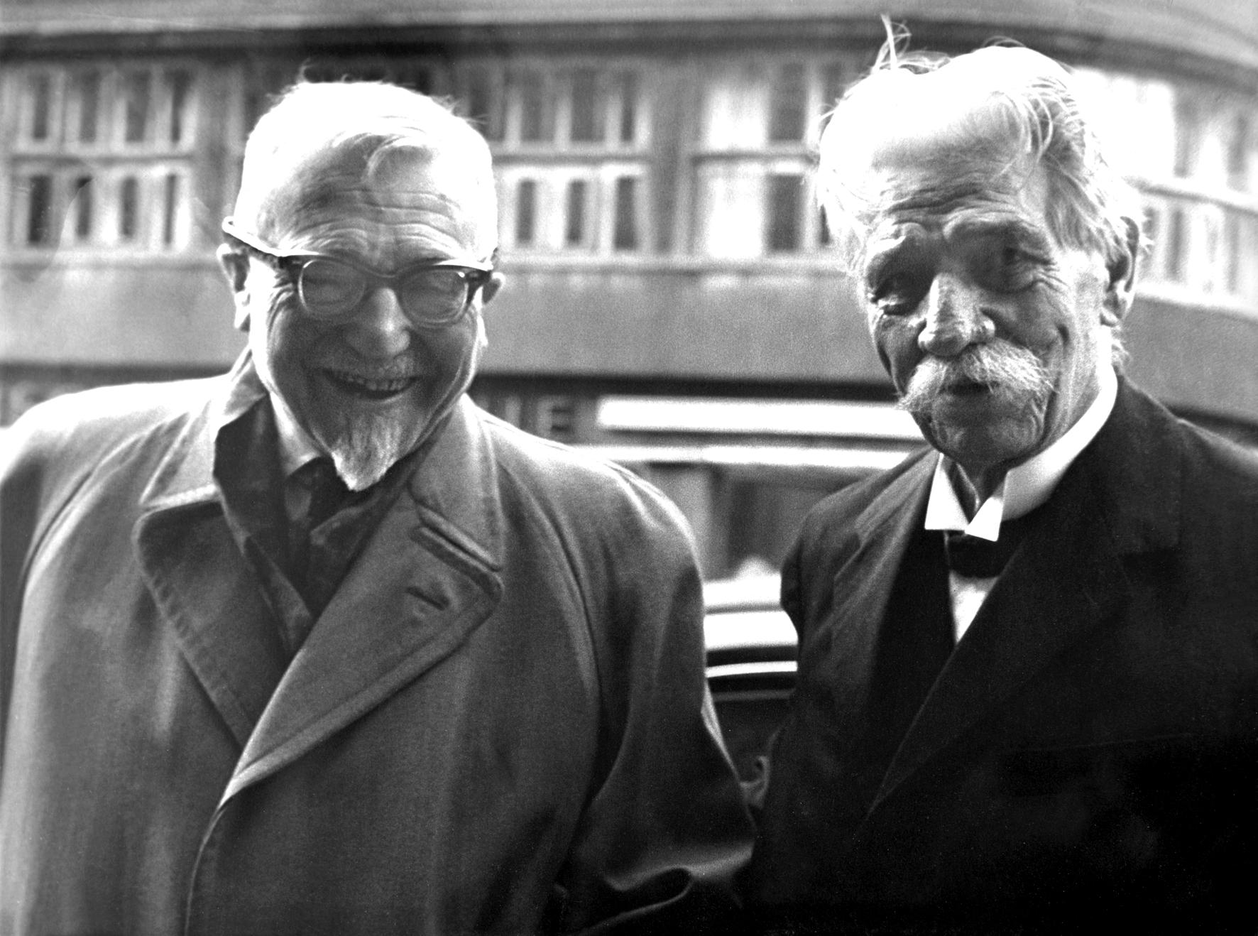 Felix Meiner und Albert Schweitzer