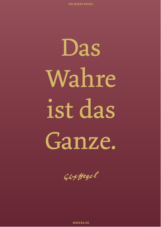 Hegel-Poster 2020
